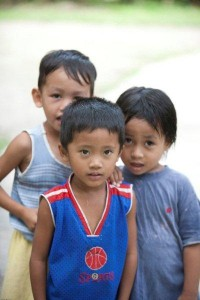 Children from the Philippines