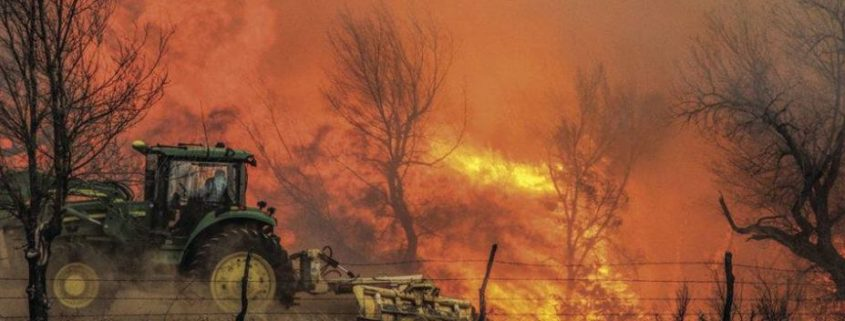 Fire in Kansas