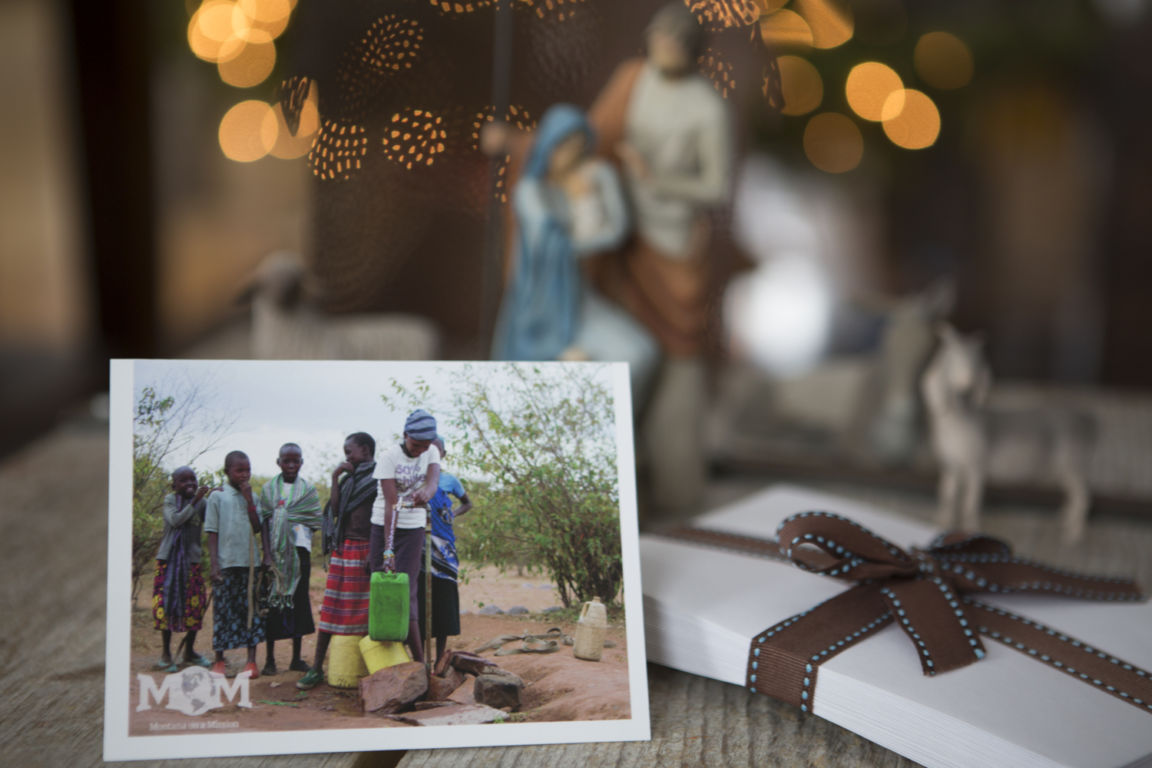 """""""A new command I give you: LOVE ONE ANOTHER"""" John 13:34 Celebrate Christmas in honor of friends and family by giving the gift of life! Make a donation to Montana on a Mission"""