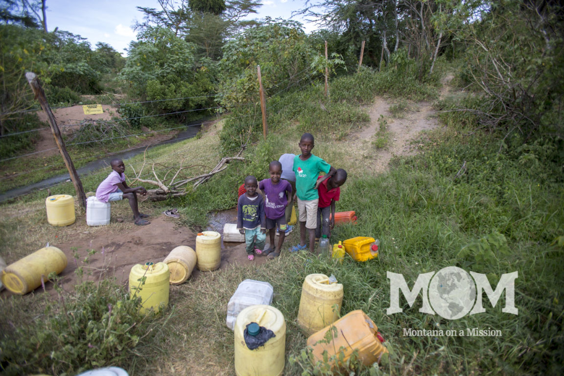For the families at Orgnoswa getting water is a real struggle. Montana on a Mission is preparing to improve access to clean water by drilling a borehole in the community.