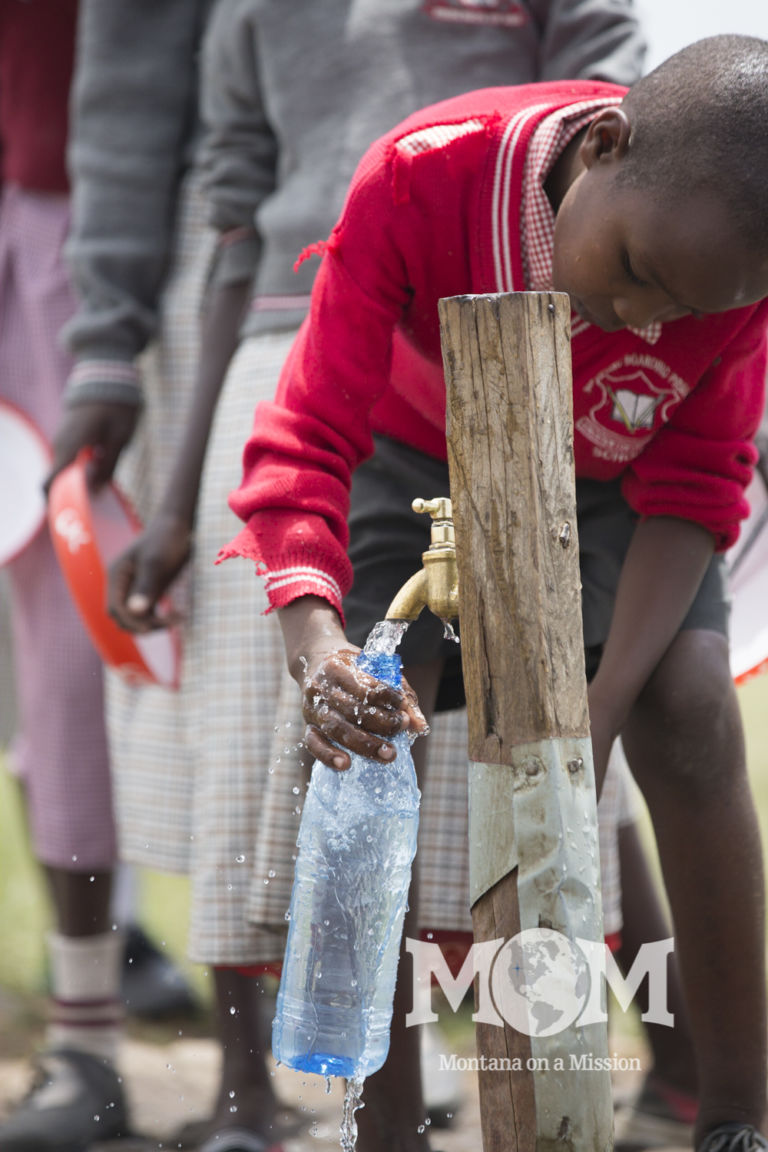 The students appreciate having clean water for drinking right on school grounds. The principal shared that there has been a noted increase in enrollment and decline in school absences.