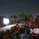 "Maasai families gather to watch the story of Jesus in their own language for the first time. Montana on a mIssion partners with Life Ministries to share the word of God through the ""Jesus"" film and ""Magdelena"""