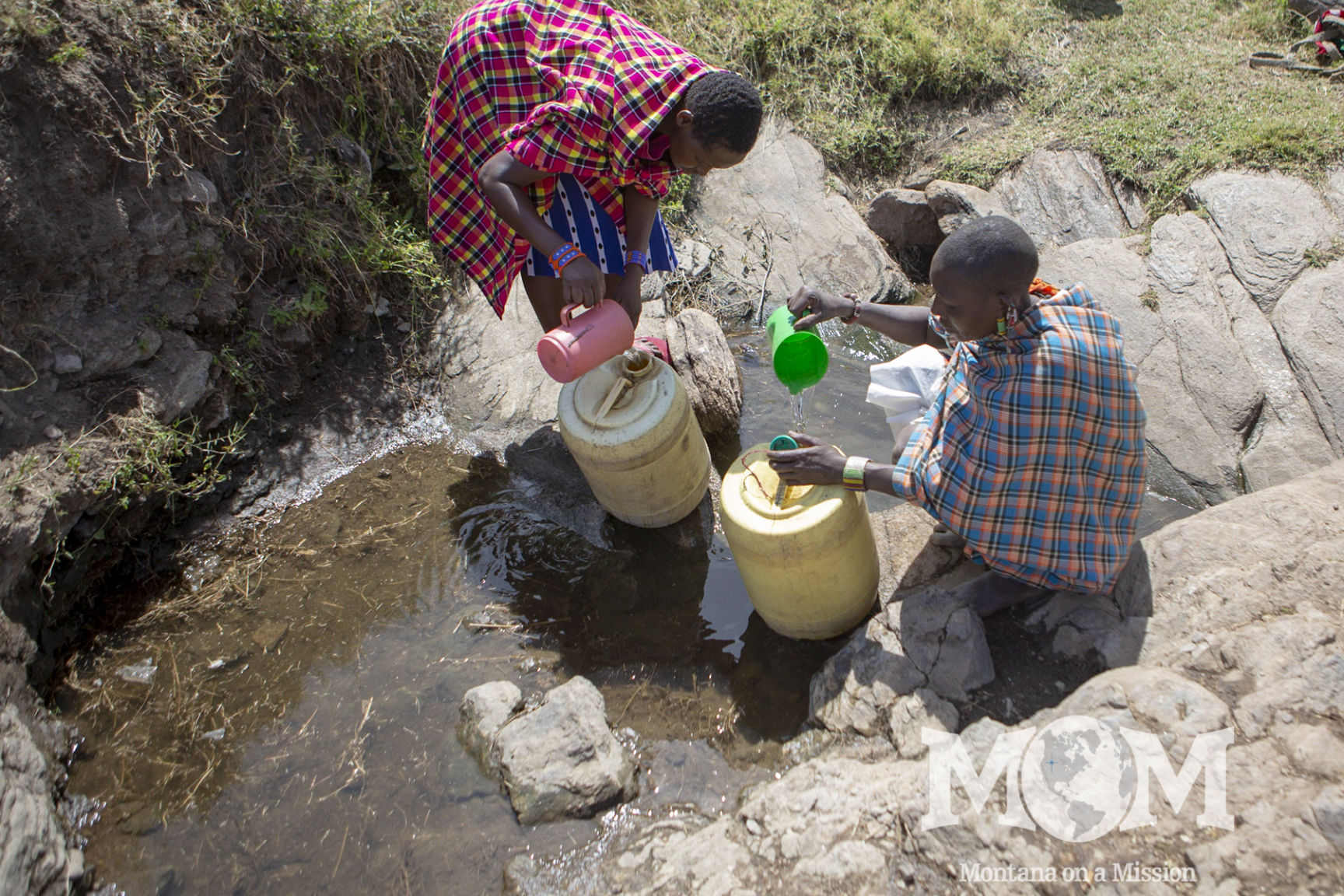 water scarcity makes life in emurua dikkir a struggle for the families there. Montana on a Mission partners with the community to bring clean water and opportunities.