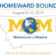 Homeward Bound August 8-10, 2019