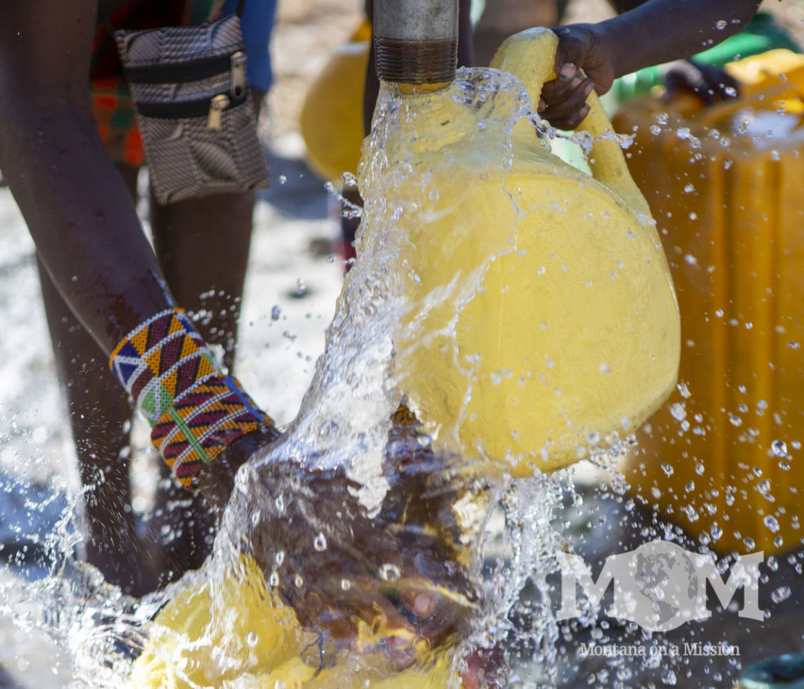 water scarcity makes life in rural Kenya a struggle for the families there. Montana on a Mission partners with the community to bring clean water and opportunities.