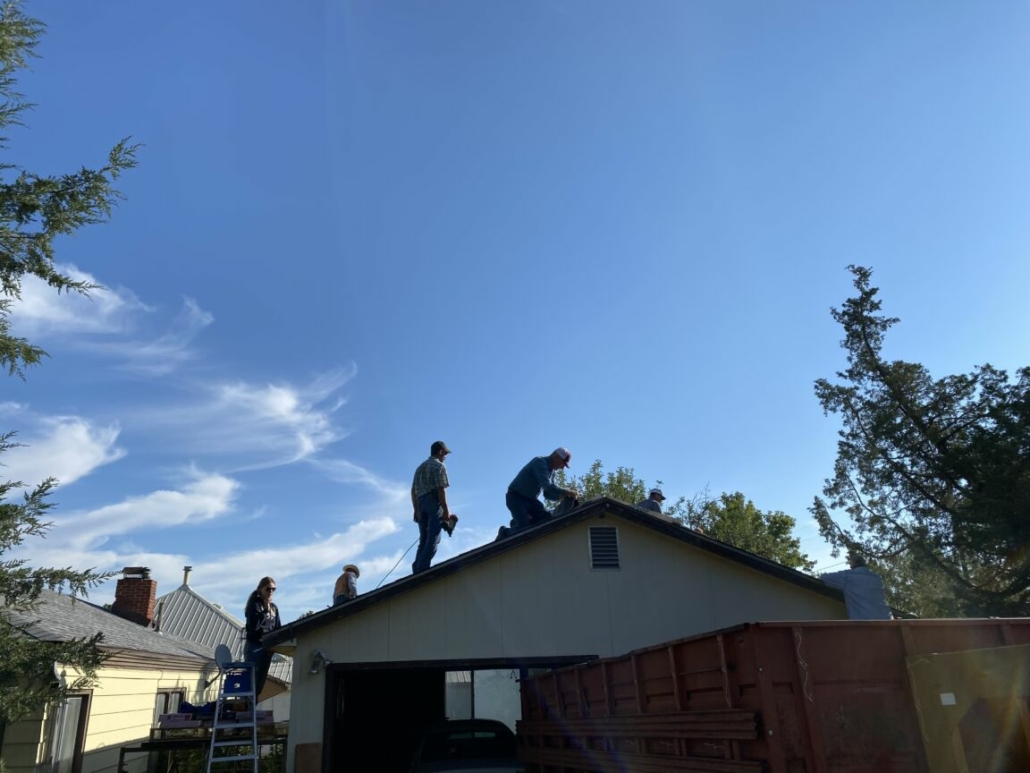 Neighbors helping neighbors, that's what Montana on a Mission's Homeward Bound projects are all about.